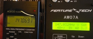 Frequency counter v AW07A