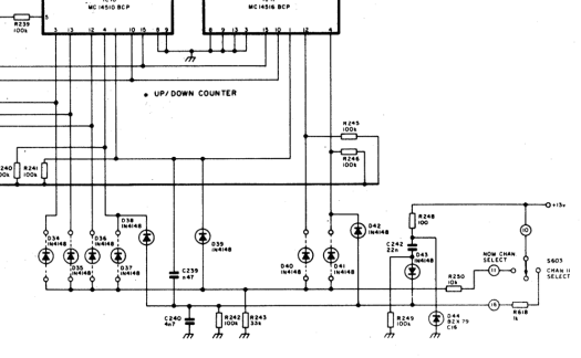 Section of FM320 circuit diagram